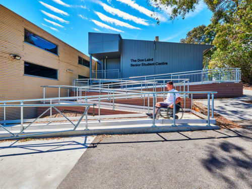 Mount Waverley Secondary College Accessible Entrance